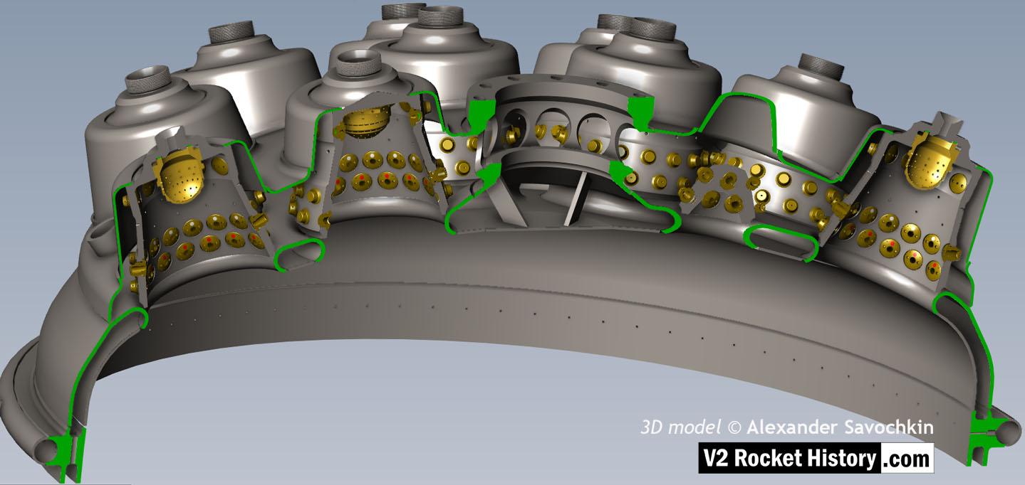 V2 veil cooling system