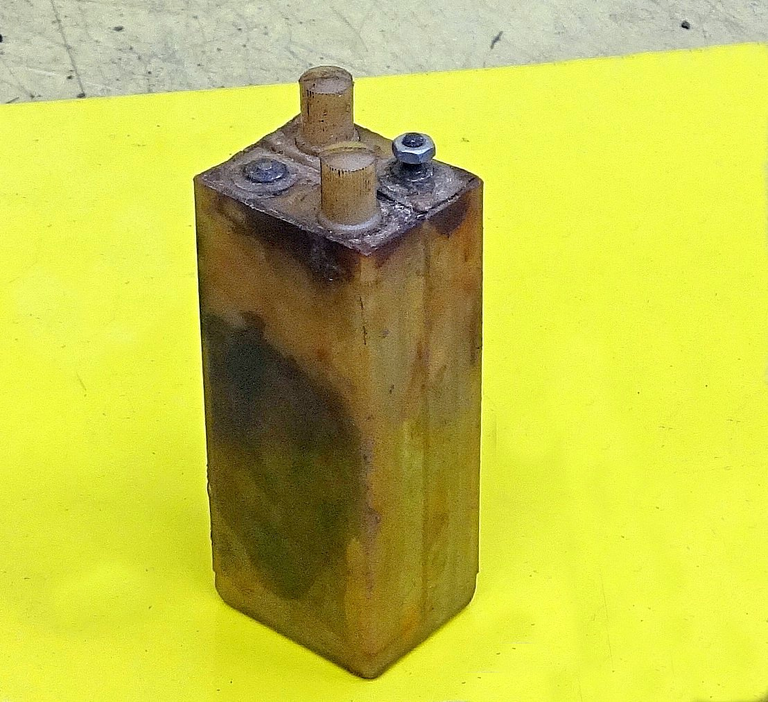 Cell from 50 volt lead acid command or signalling battery