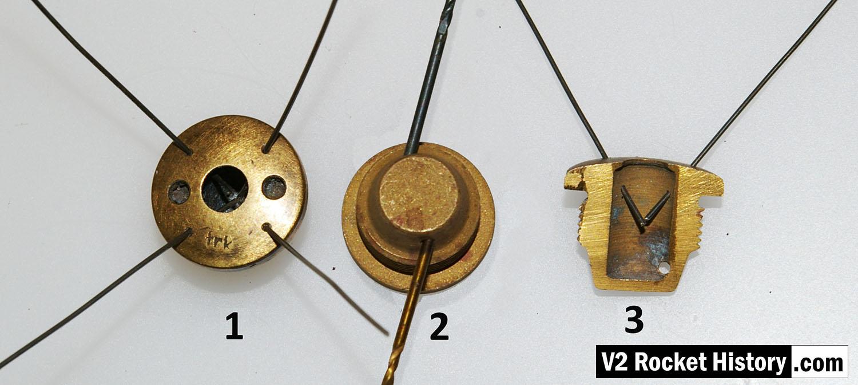 Fuel Injector insert showing aperture details