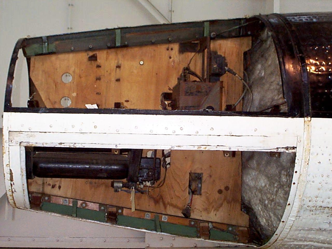 Equipment bays 1 and 4