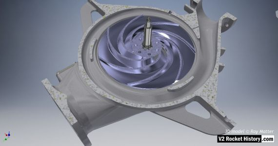15 B-Pump sub-assembly: impeller
