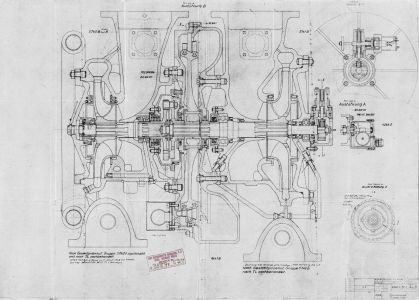 Drawing 6380 A - Turbo-pump Assembly 08 Aug 1944
