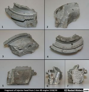 'Einheitskopf' Type 4B Injector head fragment