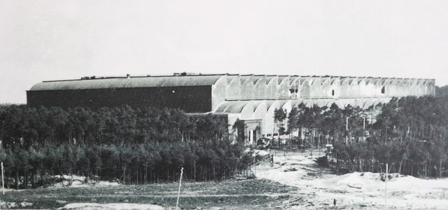 Fertigungshalle Eins (F1) after the RAF raid of 1943