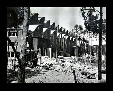Bomb damaged F1 factory 1945