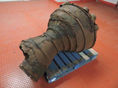 V2 rocket motor relic from 1945
