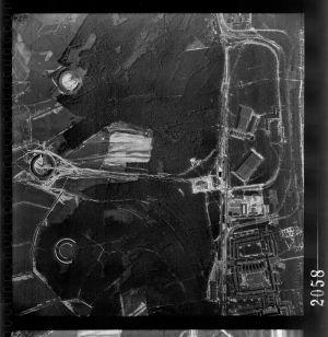 RAF reconnaissance photo Werk Süd 23-06-43