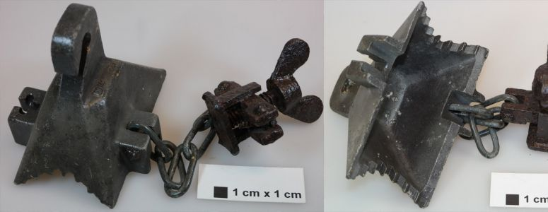 Chain and hook clamp - unknown use