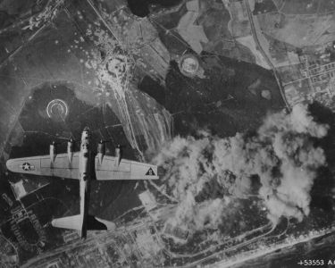 Peenemünde:  Werk Sud attacked by US bombers August 1944