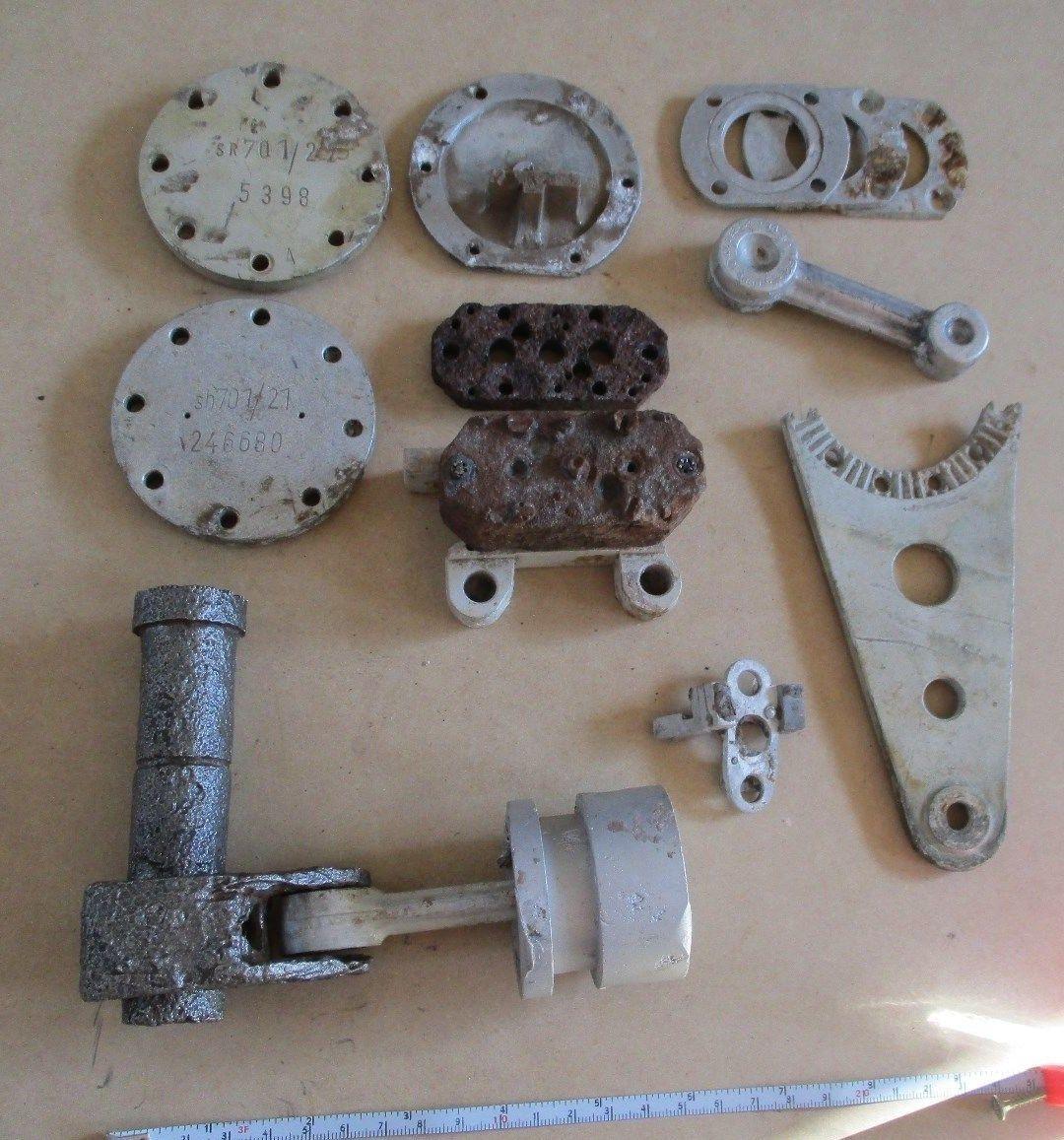 Hydraulic servo relics from Mittelwerk